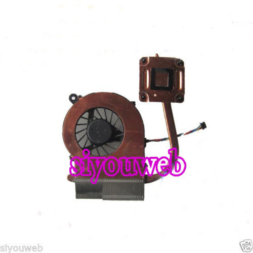 new for HP Pavilion G6 G6-1000 series cpu cooling fan heatsink 4-pin 657145-001, FREE SHIPPING