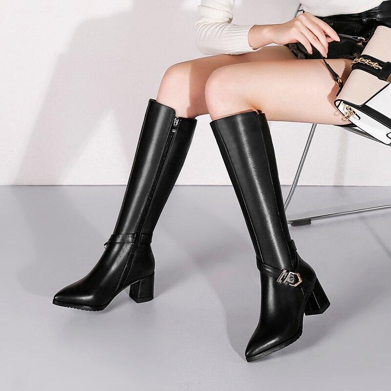 Preto e branco sapatos único, alta salto alto, profissional moda casual dating - 5