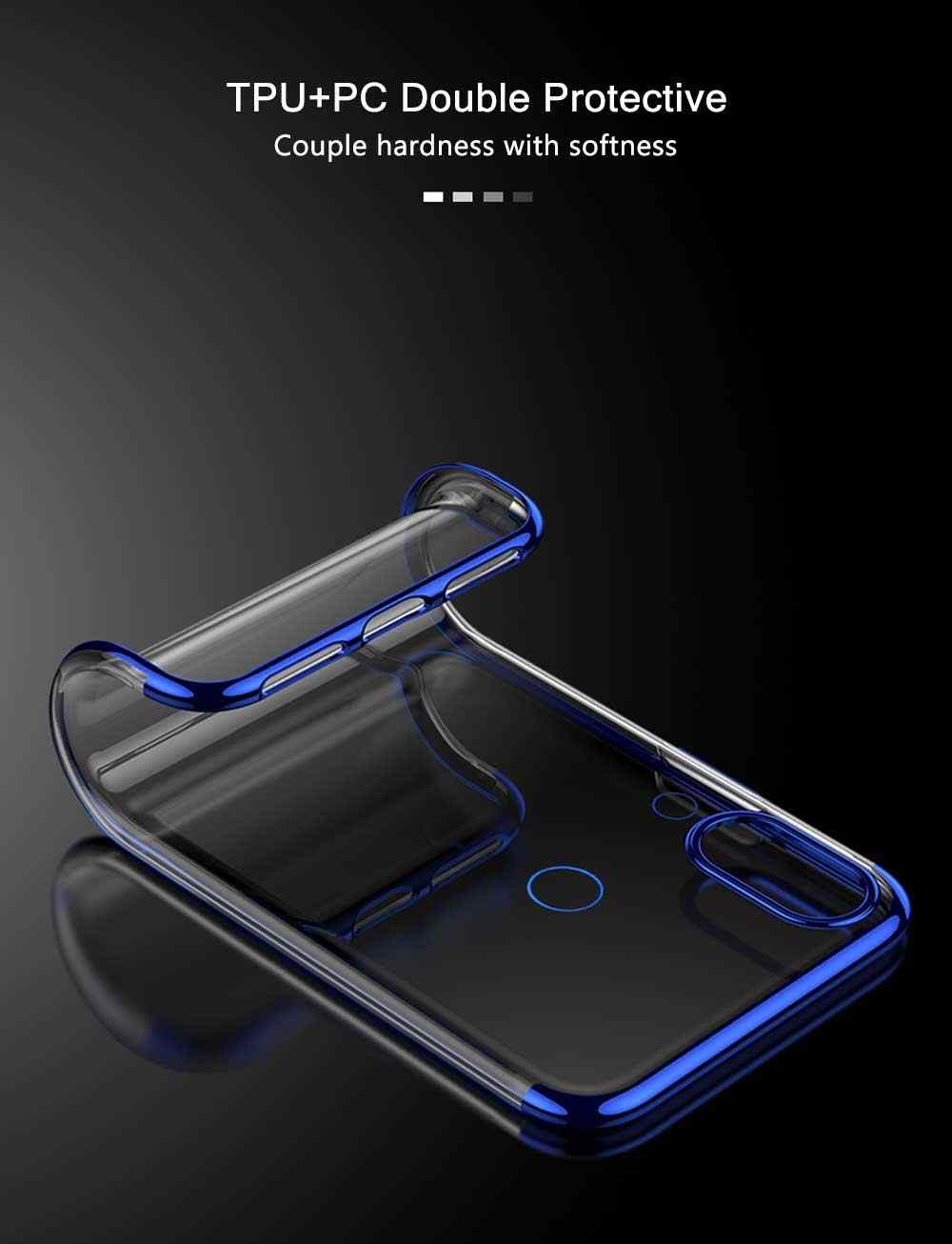 Olhveitra الهاتف Fundas ل Xiaomi Redmi ملاحظة 7 6 5 برو Redmi 5 زائد 6A S2 Y2 Redmi 7 حالة TPU لينة الفاخرة تصفيح السيليكون غطاء