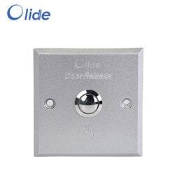 Ze stopu aluminium ze stopu aluminium przełącznik dla systemu kontroli dostępu  elektryczne drzwi ze stopu przełącznik dotykowy przycisk