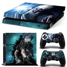 Naruto Decal Skin Sticker For play station 4