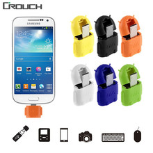 Crouch Mini Micro Usb Otg Cable To USB OTG Adapter For Samsung HTC Xiaomi Sony LG Android OTG Card Reader Usb OTG adapter