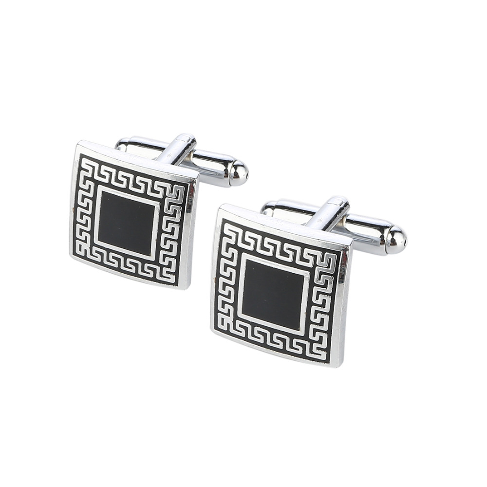 Square China Style Cufflinks For Men Trendy Selling High ...