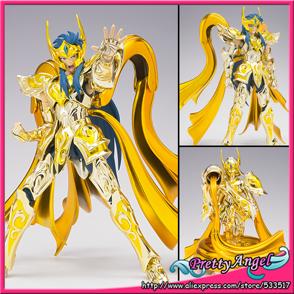 купить Genuine Bandai Tamashii Nations Saint Cloth Myth EX Saint Seiya: Soul of Gold Action Figure - Aquarius Camus GOD CLOTH по цене 15177.51 рублей