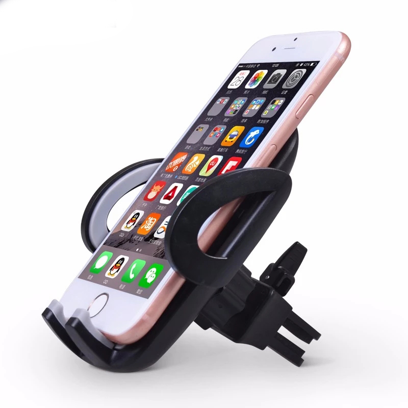 DuDa Universal Smartphone Holder Stand Car Air Vent Mount Support Mobile Phone Accessories For Iphone X 7 6s Xiaomi Redmi Note 5