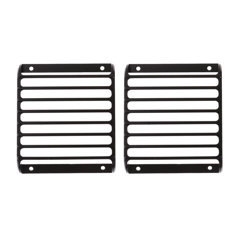 2pcs Metal Front Lamp Guards Headlight Grille Cover Guard for Traxxas TRX-4 Meaningful Accessories&Props RC Parts