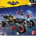 2017 Nuevo 559 Unids Lepin 07045 Superhero Movie Series El Móvil de Batman Robbin Genuino Conjunto Bloques de Construcción Juguetes de Los Ladrillos 70905