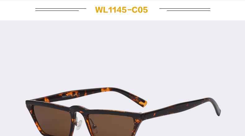 HTB1kxbvXOqAXuNjy1Xdq6yYcVXa4 - Winla Fashion Design Women Sun Glasses Flat Top Sunglasses Square Frame Classic Shades Vintage Eyewear Oculos de sol WL1145