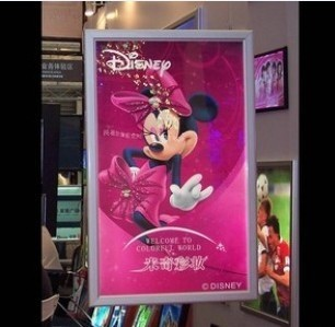 A2 Ultra thin Aluminum Frame Poster Led Lightbox Display Wall Box 8 Psc/Lot Whosale