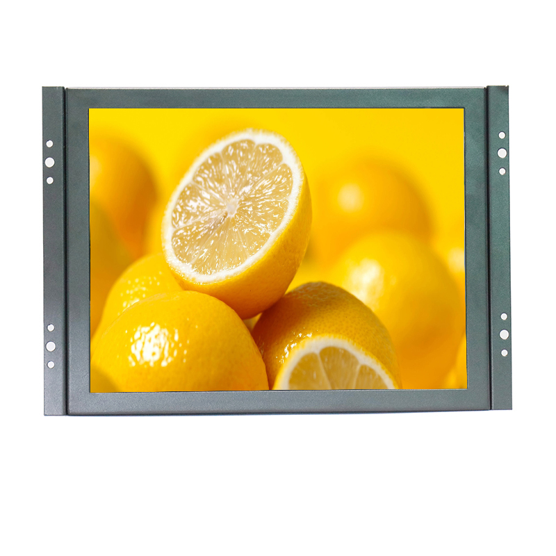 10 Inch Industrial Monitor 800*600 Open Frame Embedded LCD Monitor 4:3 Screen Ratio Black Color With AV/BNC/VGA/HDMI/USB input