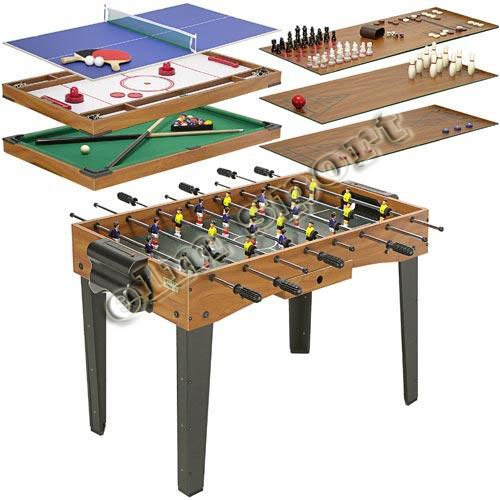 12 in 1 game table soccer table pool table in soccer for 12 in 1 game table groupon