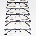 Nueva Edición También Incluidos Lang Fondo Miopía Montura de gafas Coreano Restaurar Maneras Antiguas Superar Pequeñas Gafas de Marco de Metal Ligero