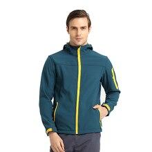 Autumn Water Resistant Sport Outdoor Softshell Jacket Men Hiking Trekking Coat Camping Casaco Fishing Warm Jaqueta Masculina