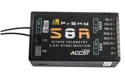 Frsky S8R 16CH 3-Assi Stablibzation RSSI Uscita PWM Ricevitore di Telemetria Con Porta Intelligente