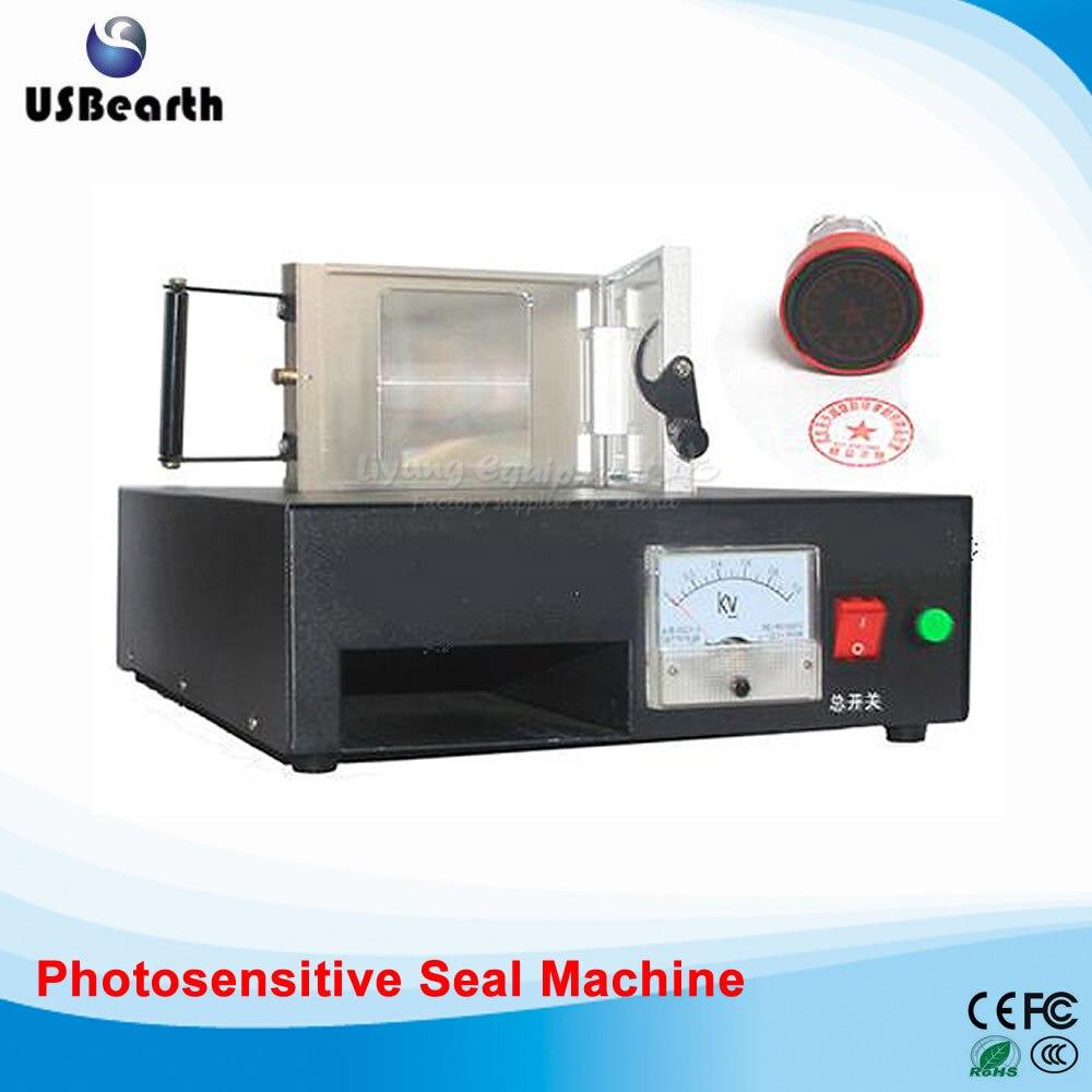 LY-P10 photosensitive seal machine,PSM machine new 220v photosensitive portrait flash stamp machine kit self inking stamping making seal holder film pad no ink