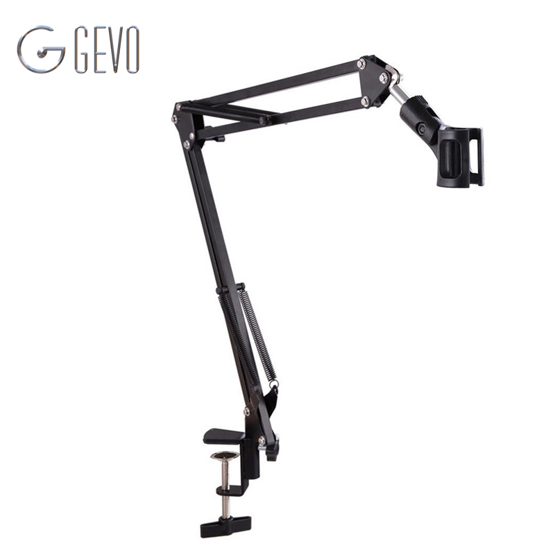 NB 35 Tripod For Microphone Metal Extendable Stand Tripod Boom Scissor Arm Holder With Microphone Clip Mounting Clamp For BM 800NB 35 Tripod For Microphone Metal Extendable Stand Tripod Boom Scissor Arm Holder With Microphone Clip Mounting Clamp For BM 800