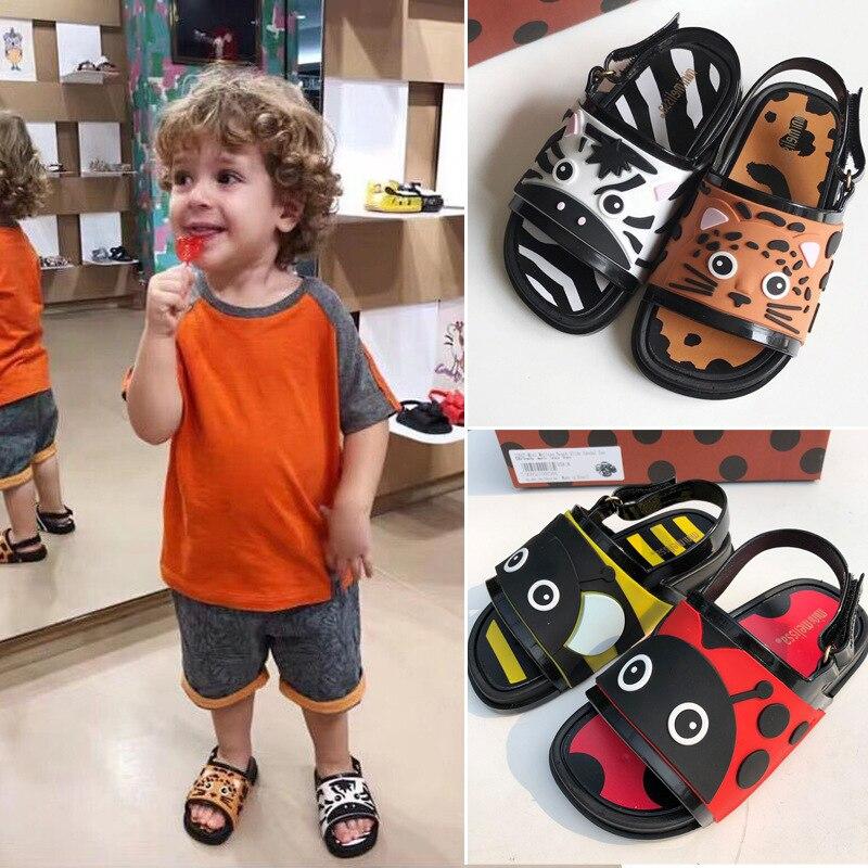 Filles garçons sandale 2019 Original Melissa fille gelée sandales garçons enfants sandales enfants chaussures de plage enfant en bas âge chaussures