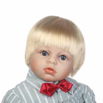 NPK simulation lifelike reborn toddler doll 28inch handmade doll soft touch boy doll Favorite gift for children 2