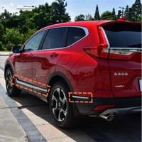 자동차 사이드 도어 바디 & 프론트 포그 라이트 램프 몰딩 커버 트림 17 18 혼다 crv CR-V 2017 2018