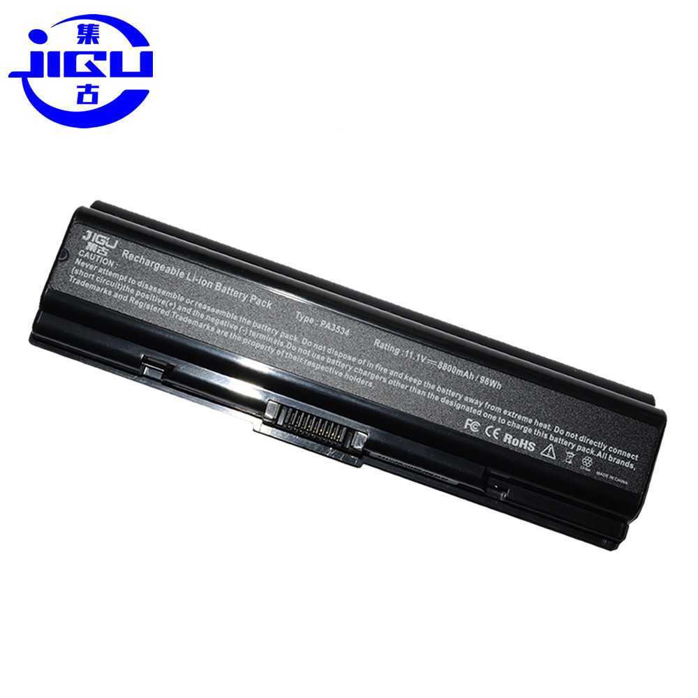 JIGU Best Price New Laptop Battery Equium A200 Satellite A355 A505 L500D L550 L555D A210 A300 A355D A500 L200 L500 For Toshiba