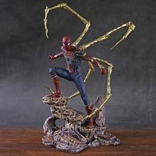 Железный студийный Железный Паук телефон экшн фигурка Коллекционная модель игрушка