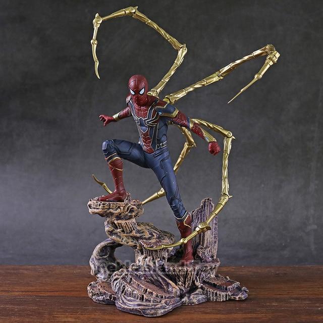 Iron Studios  Iron Spider PVC Statue Action Figure Collectible Model Toy