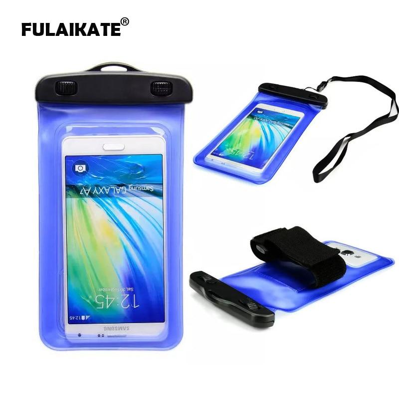 Bolsa impermeable universal FULAIKATE de 6 pulgadas para iPhone 8 - Accesorios y repuestos para celulares - foto 1