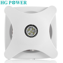 6'' 220V Air Vent Exhaust Fan Ceiling Bathroom Kitchen Bedroom Toilet Ventilator de techo Fan Hotel Wall Silent Extractor Fans