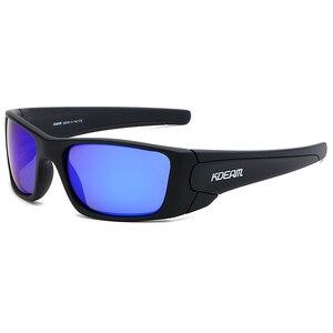 Image 4 - KDEAM 2019 Nuovo Arrivo Degli Uomini di Sport Occhiali Da Sole TR90 Telaio HD Polarizzati lente a specchio Outdoor Occhiali UV400 5 Colori con il caso KD555