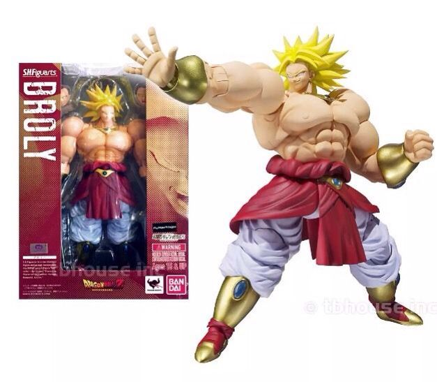 все цены на MODEL FANS in-stock Original BANDAI Dragon Ball Z shf super saiyan broli Brolly action figure toy for Collection онлайн