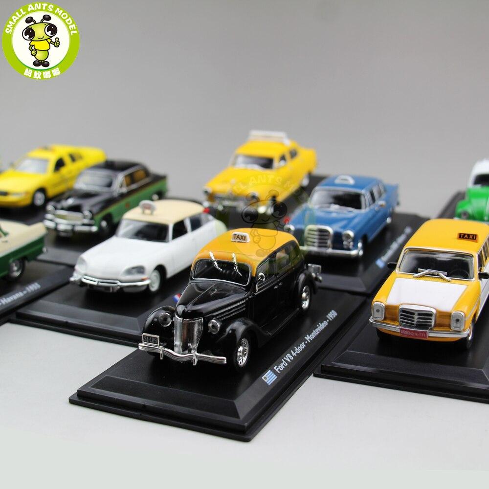 1/43 TAXI Auto Modell Spielzeug Citroen Abenzl VW Käfer Fiat GAZ Ford Renault Austin Checker Diecast Car Modell Spielzeug Geschenk sammlung