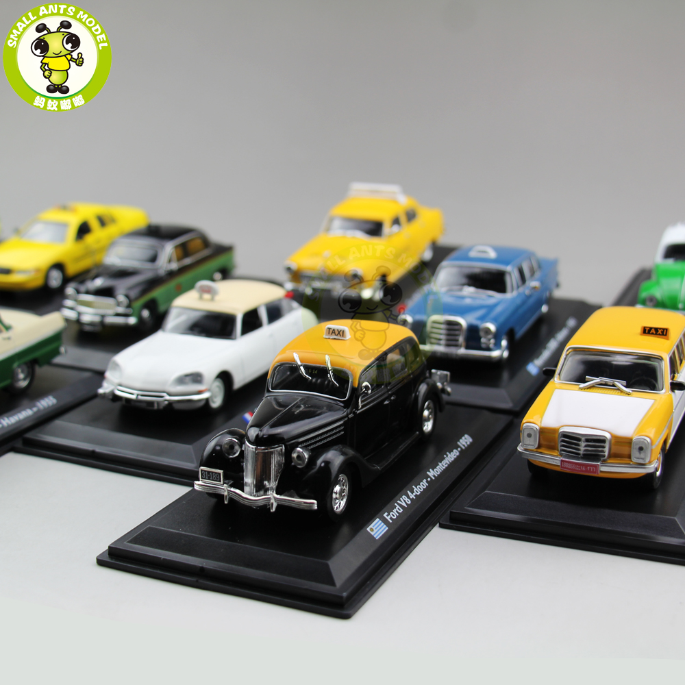 1/43 TAXI Car Model Toy Abenzl GAZ Renault Austin Checker Diecast Car Model Toy Gift Collection
