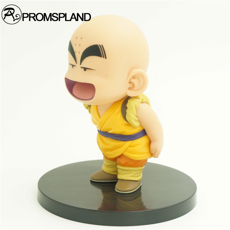 1pc/lot Dragon Ball Action Figure Childhood Krillin/Goku Figures Action Figures Dragonball Z Figuras DBZ With Base 12cm