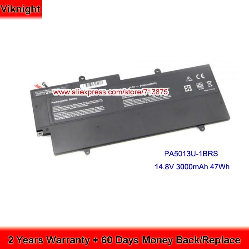 PA5013U-1BRS Batterie pour Toshiba portege Z930 Batterie D'ordinateur Portable Z830 Z835 Z935 14.8 v 47Wh