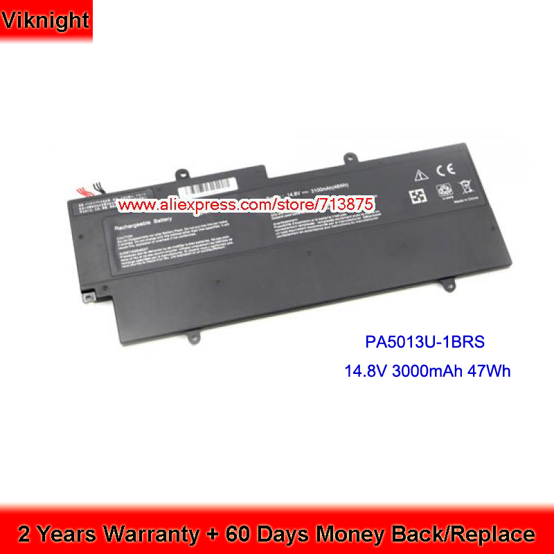 PA5013U-1BRS Battery for Toshiba portege Z930 Laptop Battery Z830 Z835 Z935 14.8V 47Wh