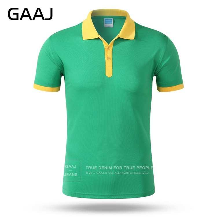 GAAJ Famous Brand 10 Colors 3XL Green Red Blue Pink Mens Polo Shirt Slim Fit Casual Shirts Clothing Short Sleeve Poloshirt 2VB4#