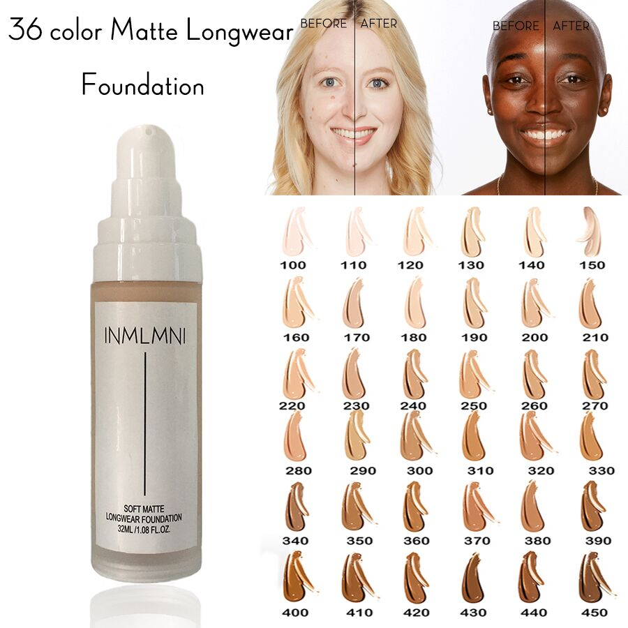PRO FILT'R Soft Matte Longwear Foundation Perfect 2in1 Foundation + Concealer ColorStay Full Coverage 24hrs Wear SPF Oil Free image