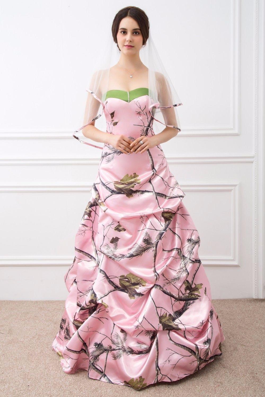 Atractivo Vestido De Novia Camo Imagen - Colección de Vestidos de ...