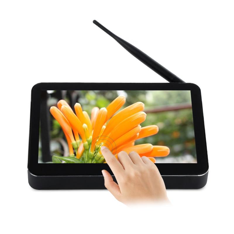 цена на PiPO X11 Quad Core TV BOX Z8350 2G RAM 32G ROM windows 10 mini pc with IPS Screen display HDMI LAN Small Nettop Computer