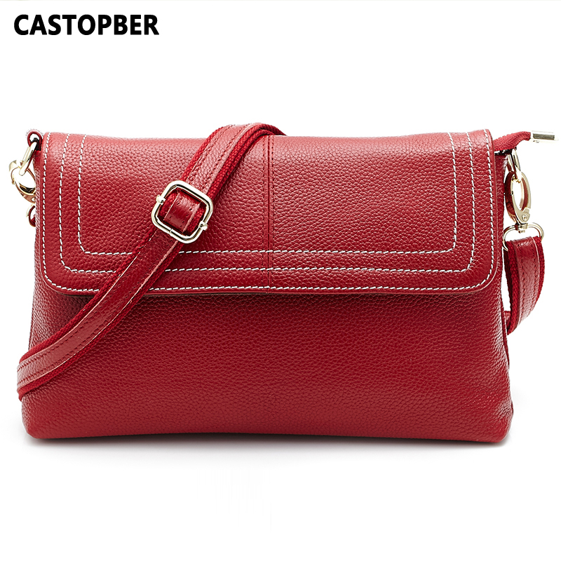 Fashion Famous Brand Designer First Layer Cowhide Leather Handbag Genuine Leather Women Bags Shoulder Crossbody Bag High Quality