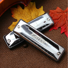 Easttop harmonica 10 holes Blues Harp woodwind music instrument T002 mouth organ  key of C and other 12 keys