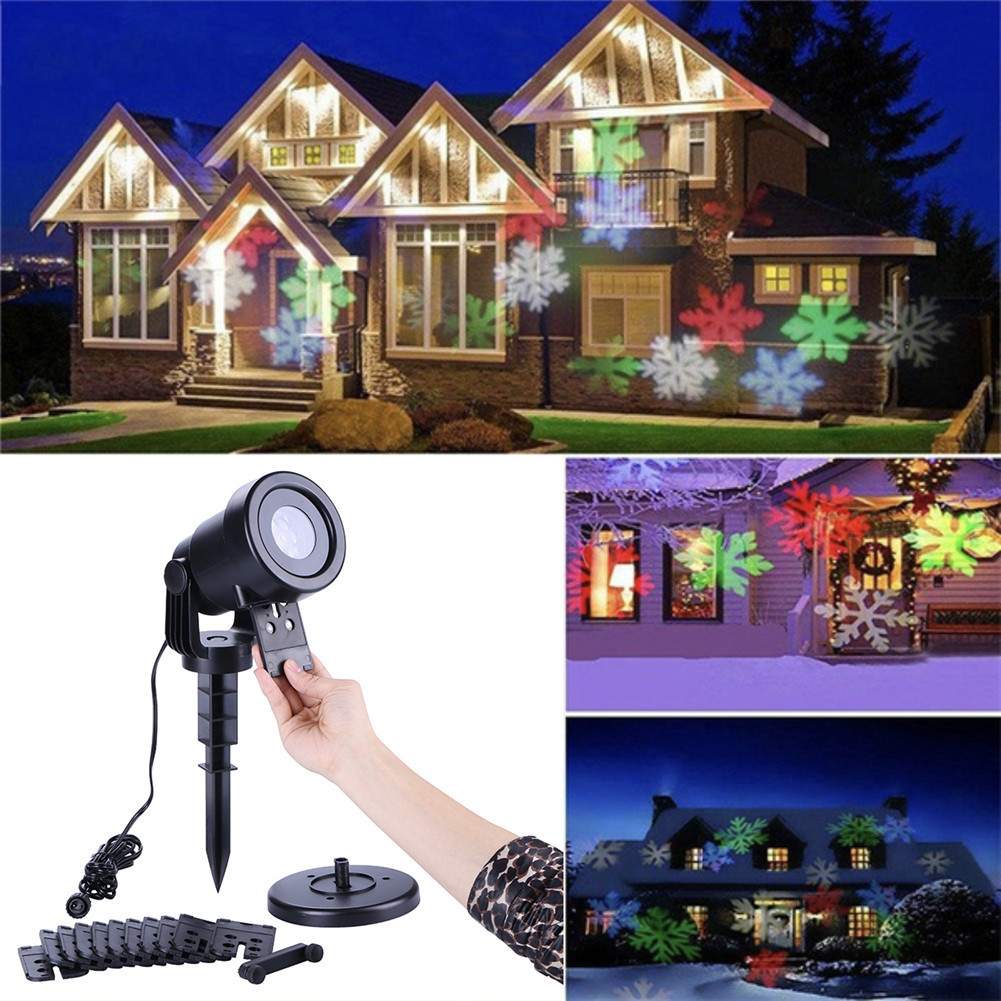Christmas Light Projector.Us 31 14 32 Off Chrismas Led Projector Outdoor Christmas Lights Laser Fairy Light Projection Waterproof Projector New Year S Decor In Stage Lighting