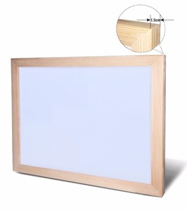 Image 4 - 30*40cm Whiteboard Dry Erase Magnetic Board Drawing Bulletin White Boards Wood Frame Erased Easily Repeated Factory Supplier