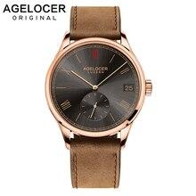 Luxury AGELOCER Wristwatch Swiss Brand Mechanical role Watch