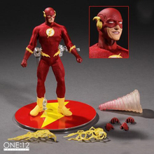 "Mezco Super Herói Flash & Zoom Um: 12 Coletivo 6.5 ""Action Figure Toys"