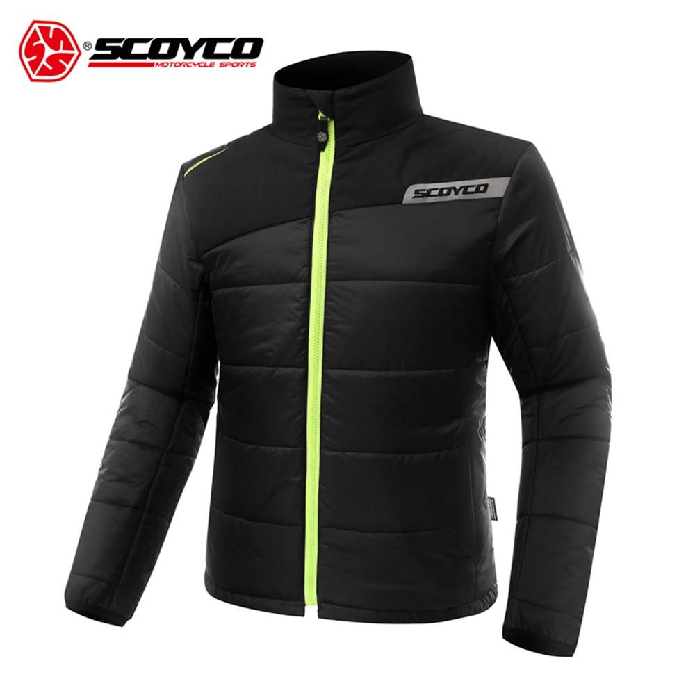 SCOYCO Motorcycle Jacket Moto Windproof Racing Jacket Blouson Moto With Five Protector Guards Motorbike Jacket Black And Red