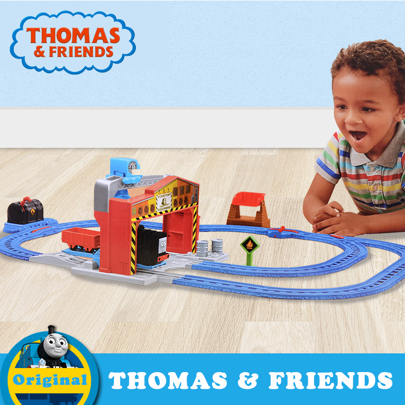 Original Thomas & Friends Mini Diecast 1:43 Matel Train Model Toys With Track Building Railway Electric Series For Day Gift