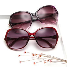 Oversized Sunglasses Women Big Frame Retro Luxury Brand Design Sexy Fashion Eye Sun Glasses Shades for 2019