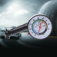 1 шт. авто-Стайлинг шиномонтажный манометр Dial Meter автомобильный тестер Датчик диагностический инструмент для автомобиля Комплект Высокое качество