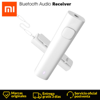 Xiaomi Bluetooth Audio 4.2 Audio Receiver Wireless Adapter 3.5mm Audio Music Car Kit Speaker Sport Original Headphone Hands